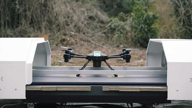 SENSYN ROBOTICS Starts Providing SENSYN DRONE HUB – a Fully Automated Drone System to Make It Possible to Guarantee the Efficiency and Safety of Security Surveillance and Inspection Operations