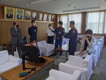 北海道 更別村での災害・事故発生時 危機管理の初動対応に 『SENSYN Drone Hub』を活用