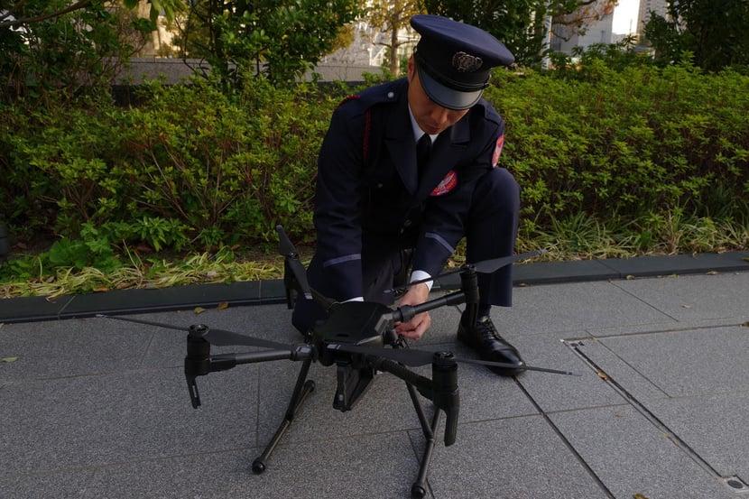 导入实例 : 五大科技株式会社的无人机整体解决方案 案例介绍