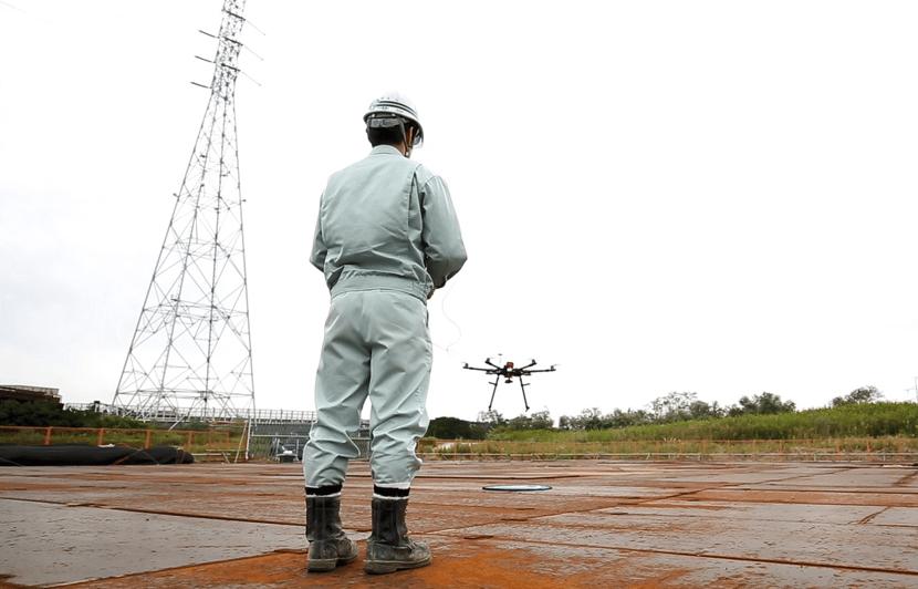 导入实例 : 中央送电工事株式会社的无人机视频通信 系统案例介绍