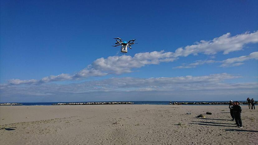 The Objectives of Proof-of-Concept for Tsunami Evacuation Alert using Drones