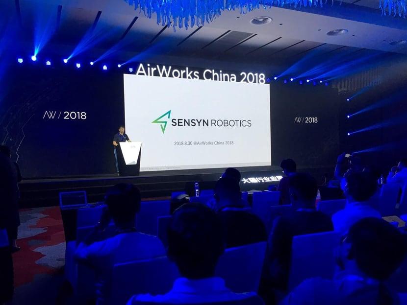 DJI主催「AirWorks China 2018」出展 業務自動化ソリューションをグローバルへ発信