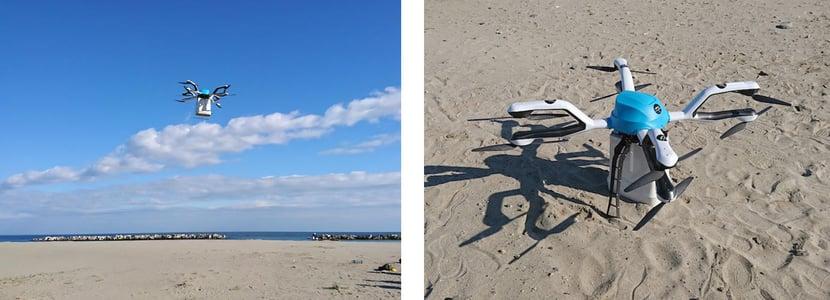 津波避難広報の実証実験の内容