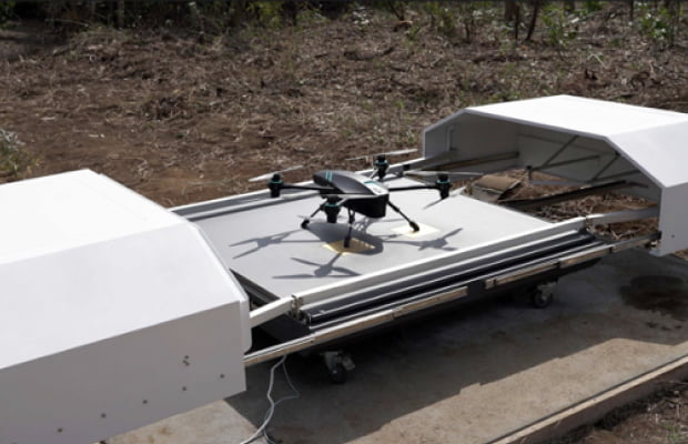 SENSYN Drone Hubと連携