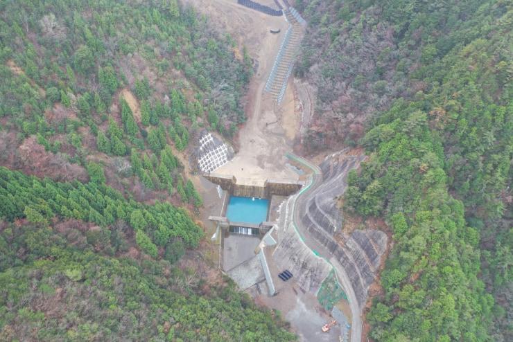 天然ダムの緊急調査